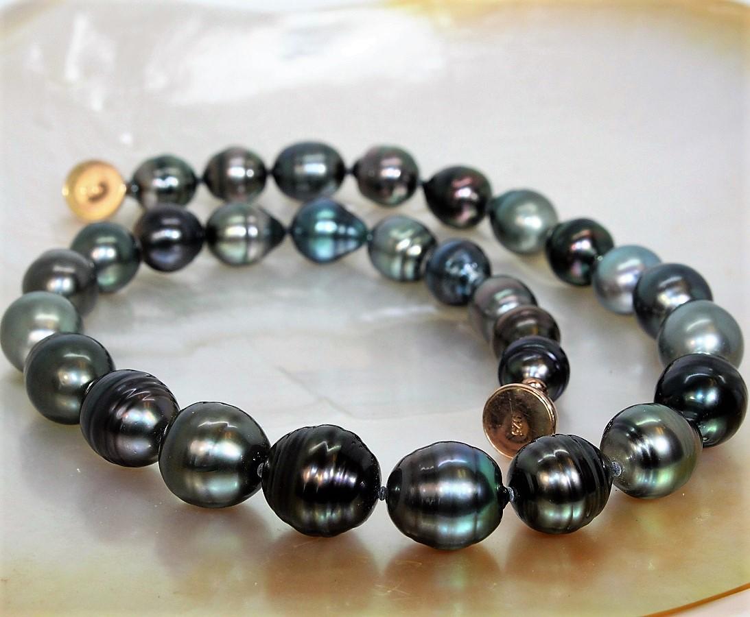 Colliers en perles de Tahiti
