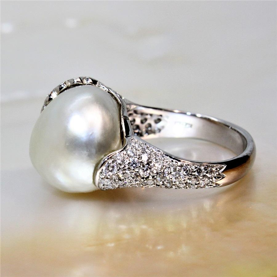 bague perle naturelles