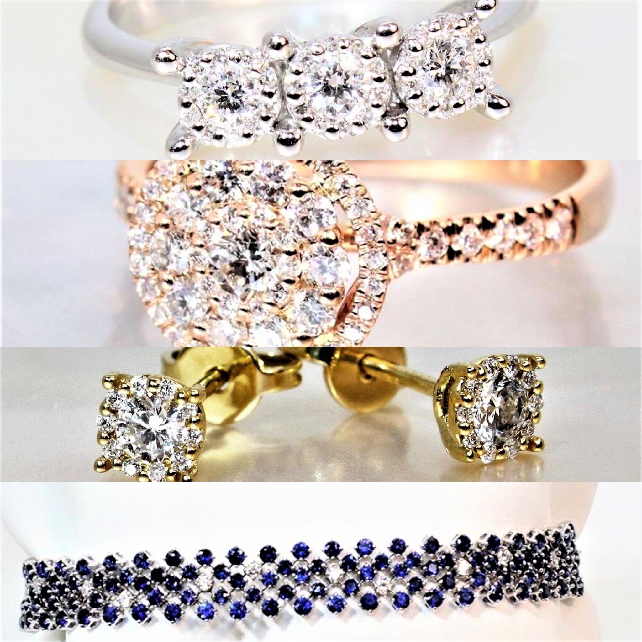 Collection bijoux en diamants